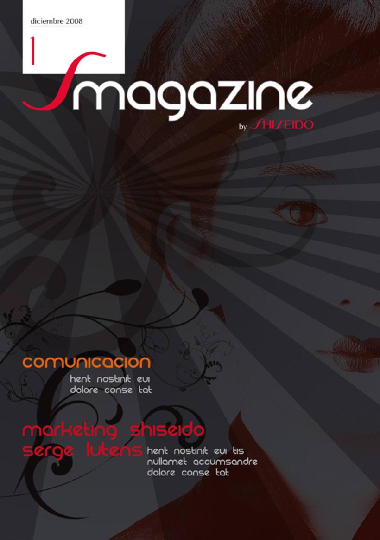 Shiseido - Propuesta Revista 2