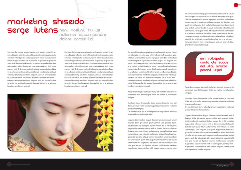 Shiseido - Propuesta Revista 4