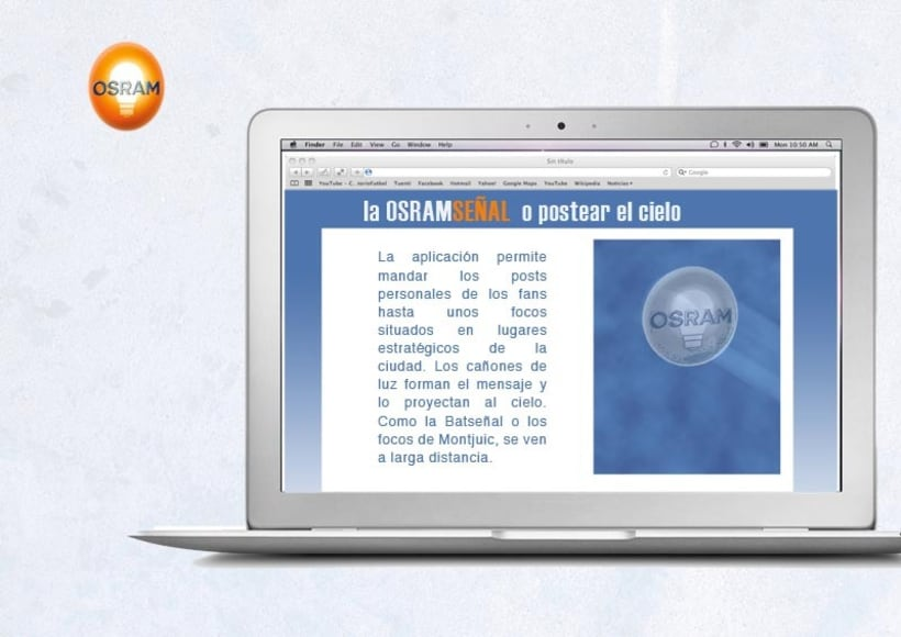 Osram. La OSRAMseñal 1