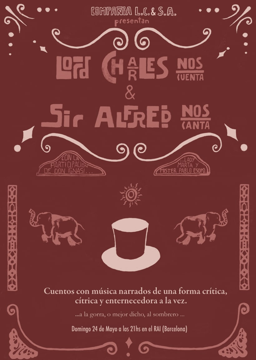 ¨Lord Charles actua y Sir Alfred canta¨ 1