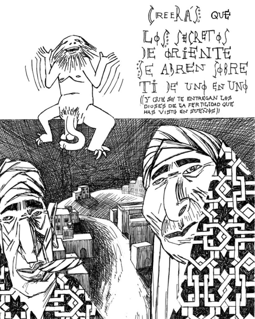 Fanzine ¨El Sueñero Ilustración¨ 3