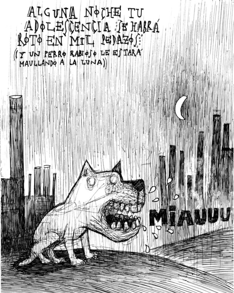 Fanzine ¨El Sueñero Ilustración¨ 2