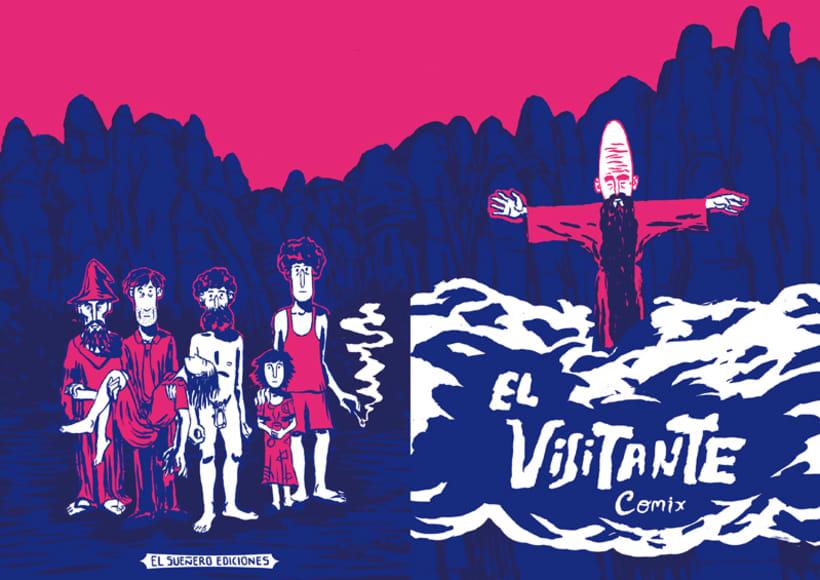 Fanzine ¨El Visitante Comix¨ 1