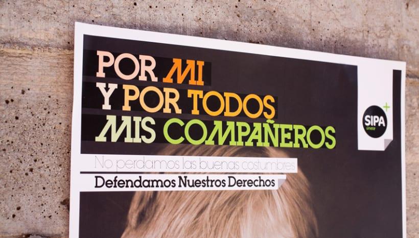 CAMPAÑA COMUNICACIÓN // SINDICATO SIPA 6