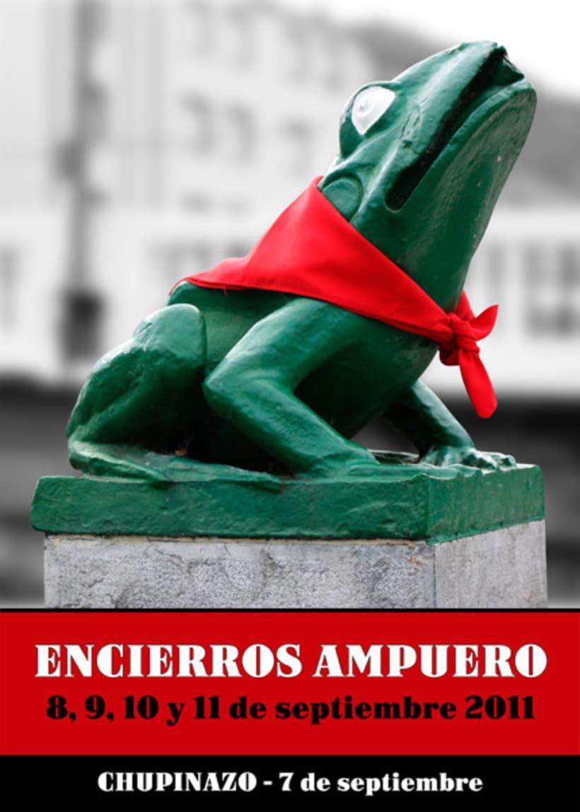 Propuesta cartel encierros Ampuero 2011 2