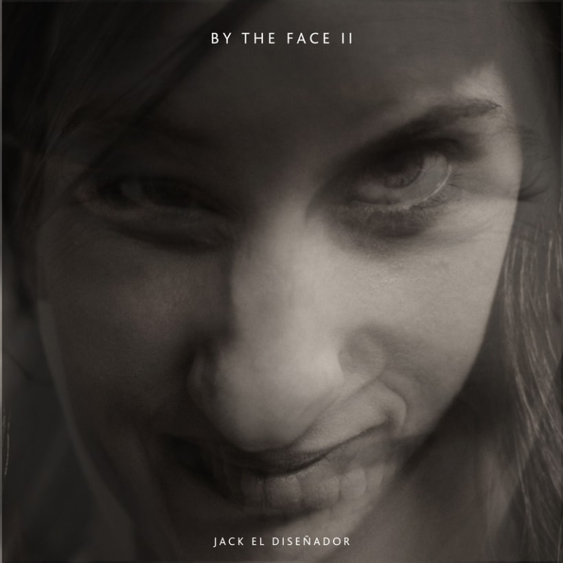 By the face  1
