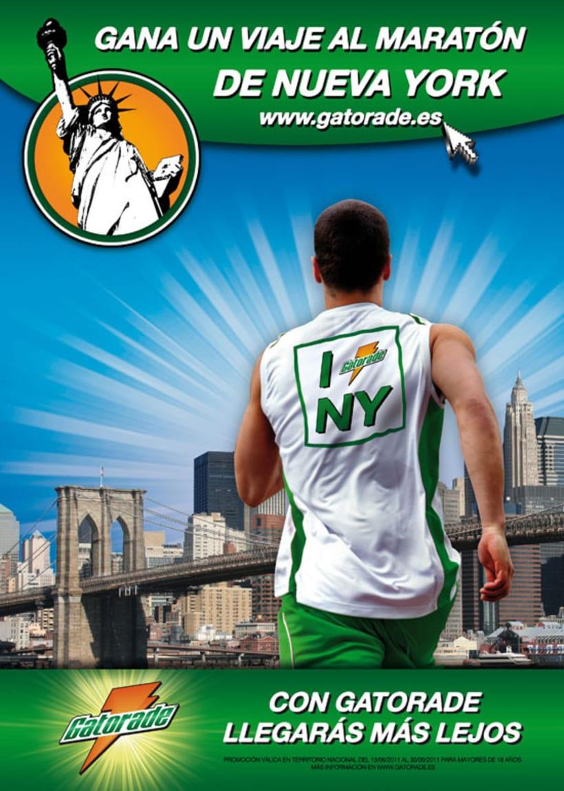 Gatorade - Maratón Nueva York '11 2