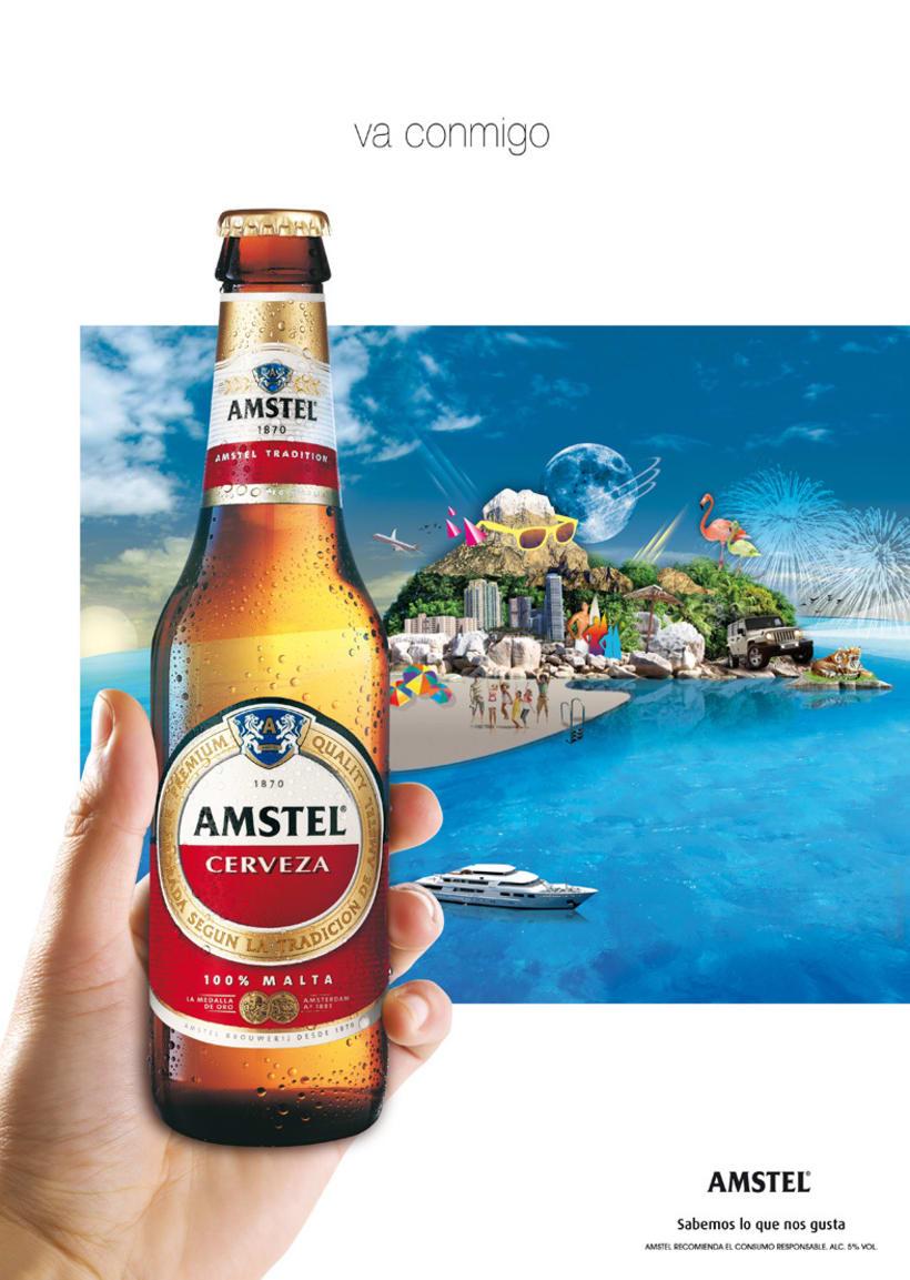 Amstel - Va conmigo 1