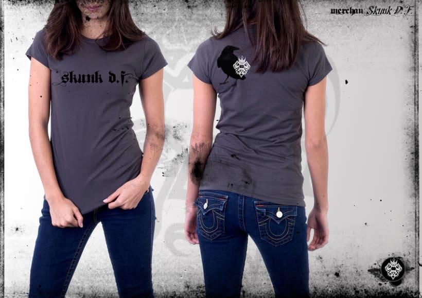 Merchandising Skunk D.F. 1