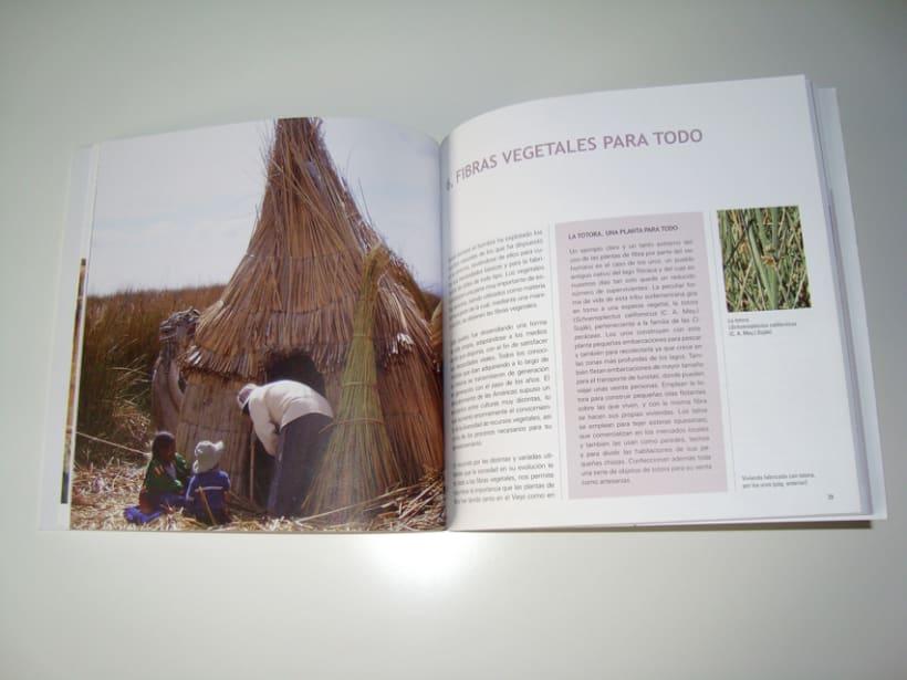 Fibras vegetales. Libro 3