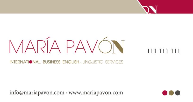 MARÍA PAVON - ON 3