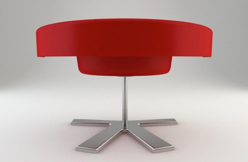 Diseño de Producto - ROSE CHAIR 5