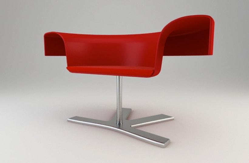 Diseño de Producto - ROSE CHAIR 3