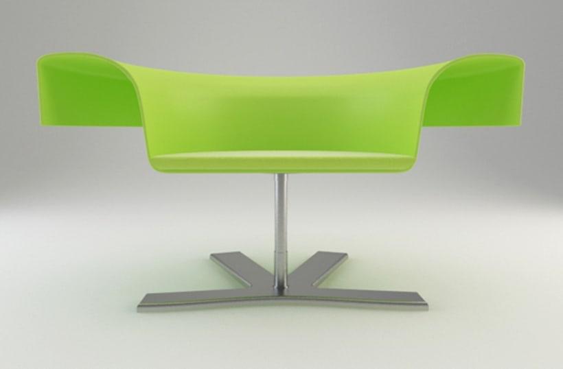 Diseño de Producto - ROSE CHAIR 2