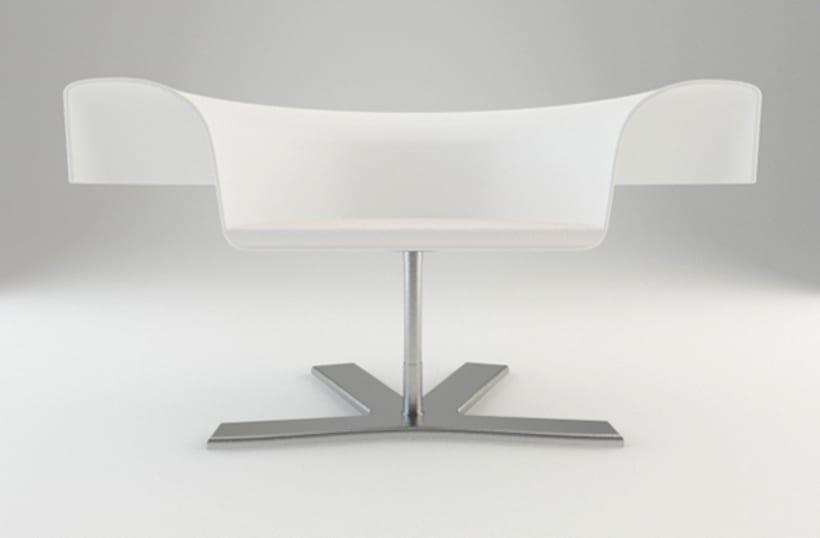 Diseño de Producto - ROSE CHAIR 1