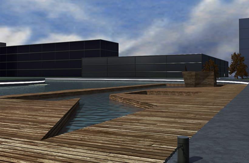 3D - Copenhaguen Tietgen Kollegiet+Harbour Baths 1