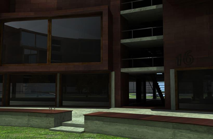 3D - Copenhaguen Tietgen Kollegiet+Harbour Baths 2