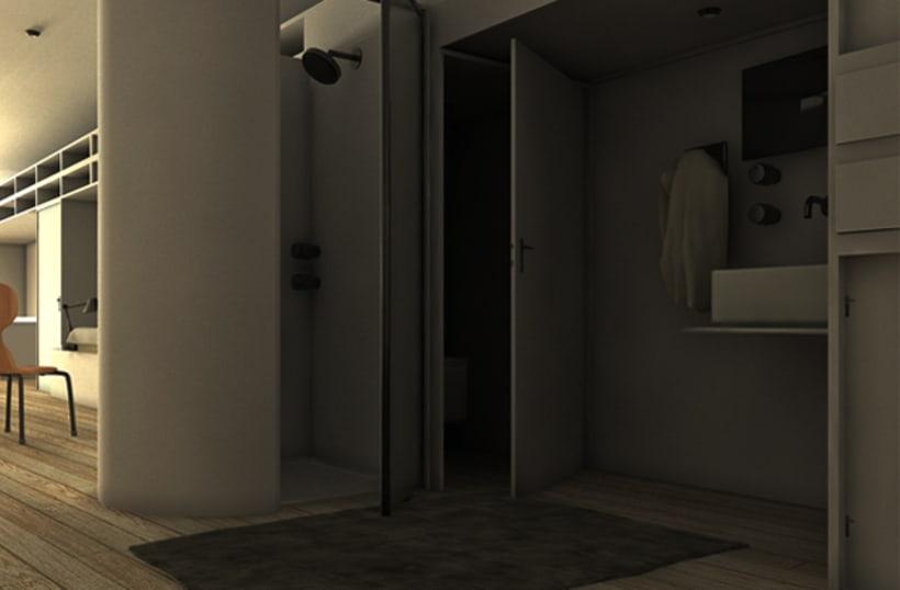 3D - Copenhaguen Tietgen Kollegiet+Harbour Baths 6
