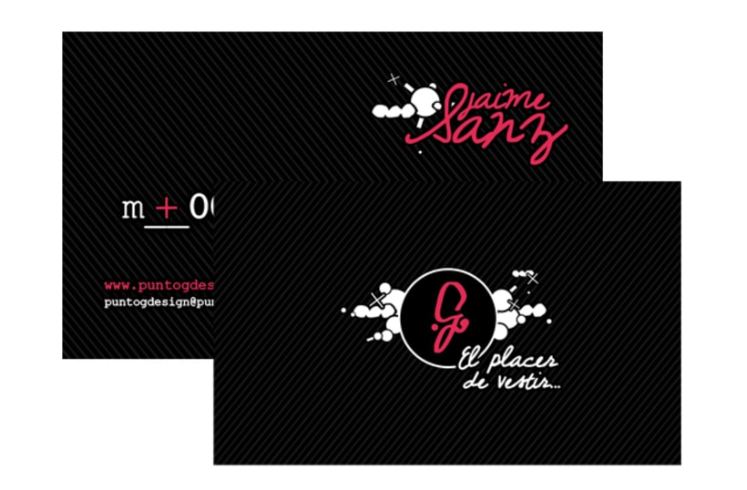 Gráfico - Logo + Tarjetas, PuntoGdesign 2