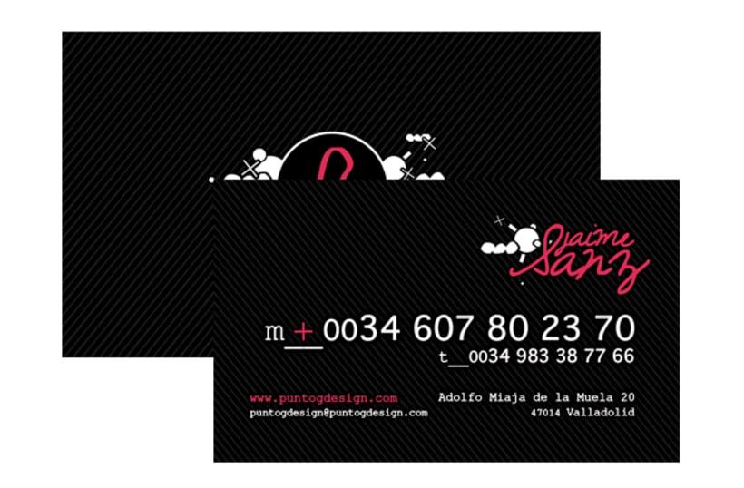 Gráfico - Logo + Tarjetas, PuntoGdesign 3