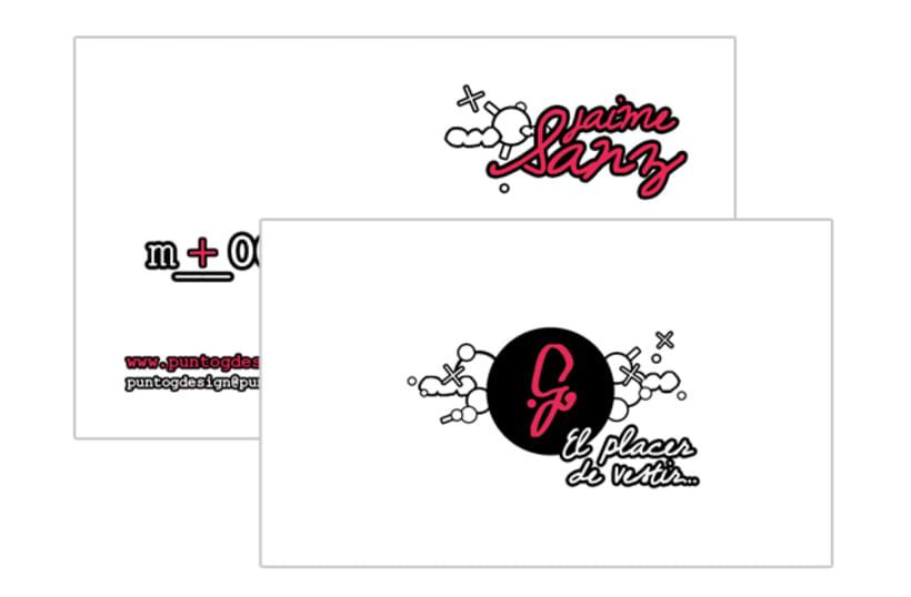 Gráfico - Logo + Tarjetas, PuntoGdesign 5