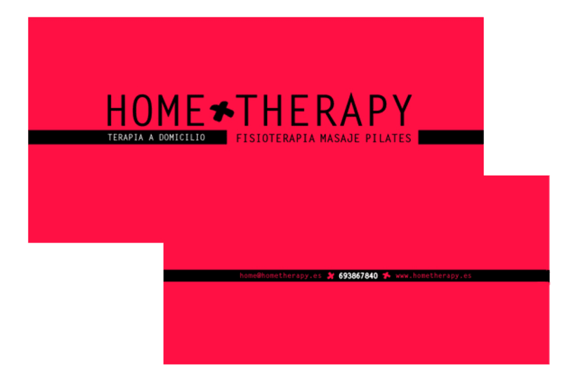 Gráfico - Imágen corporativa HOME THERAPY 1