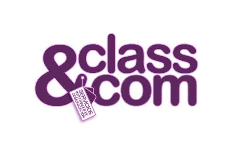 Gráfico - Logo Class&Com 1
