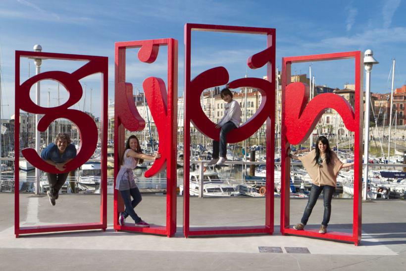 Escultura Gijón 3
