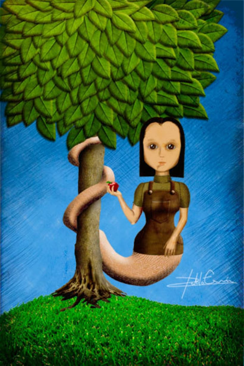 Illustration - Odd Girls 3