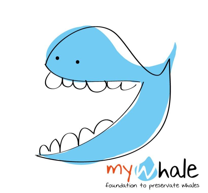 MyWhale Logotipo 1