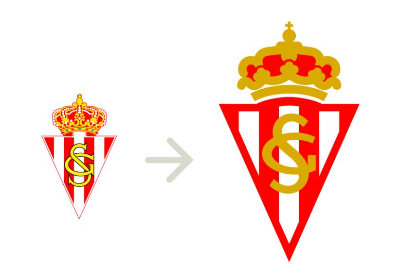 Logo Sporting de Gijón 2