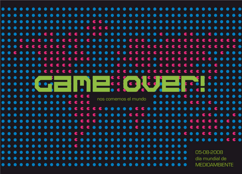 game over, cartel medio ambiente 1