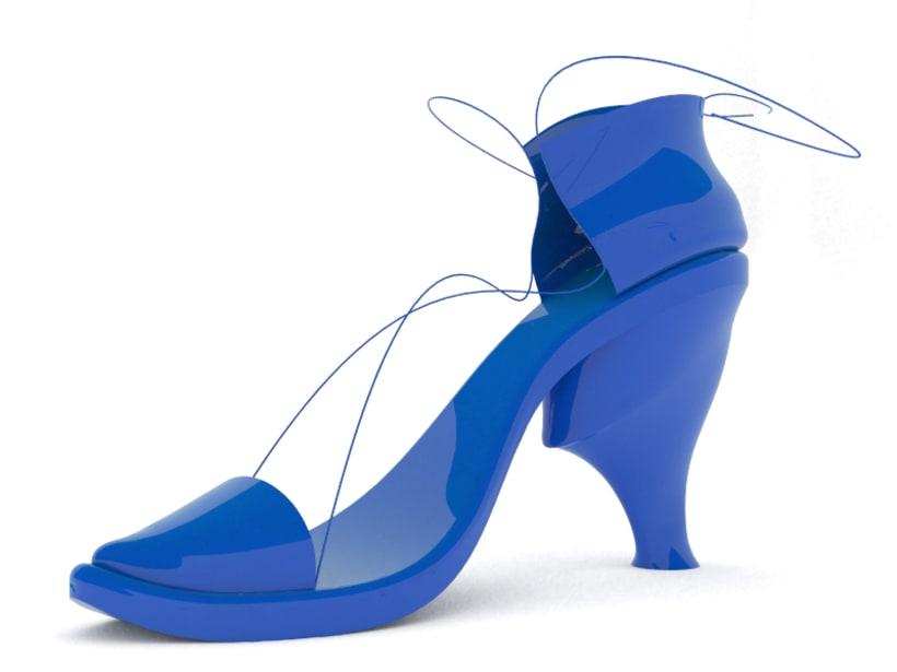 Diseño de calzado femenino 1