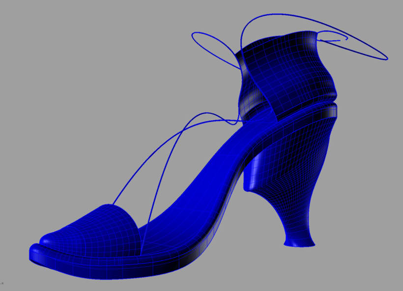 Diseño de calzado femenino 3