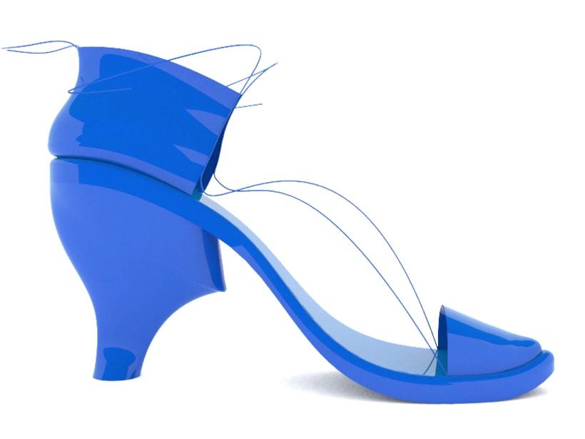 Diseño de calzado femenino 6