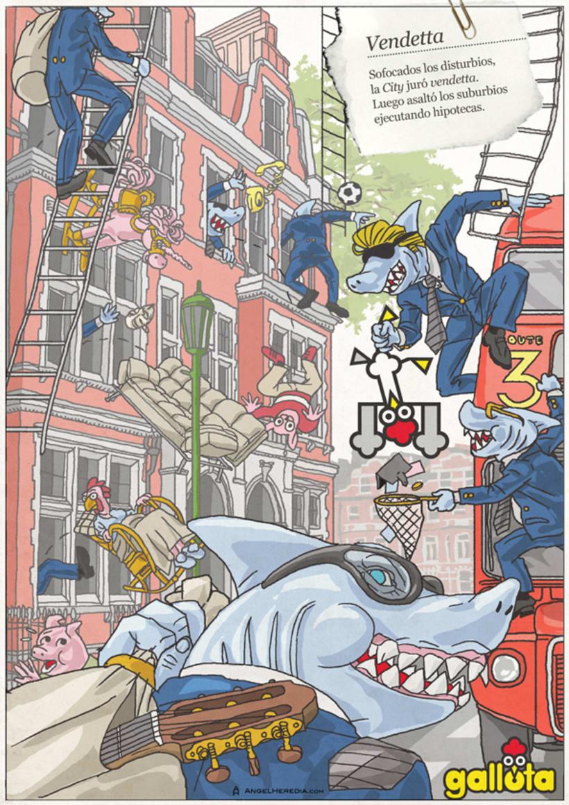 GALLOTA. Humor gráfico y rimas de arte menor. 12