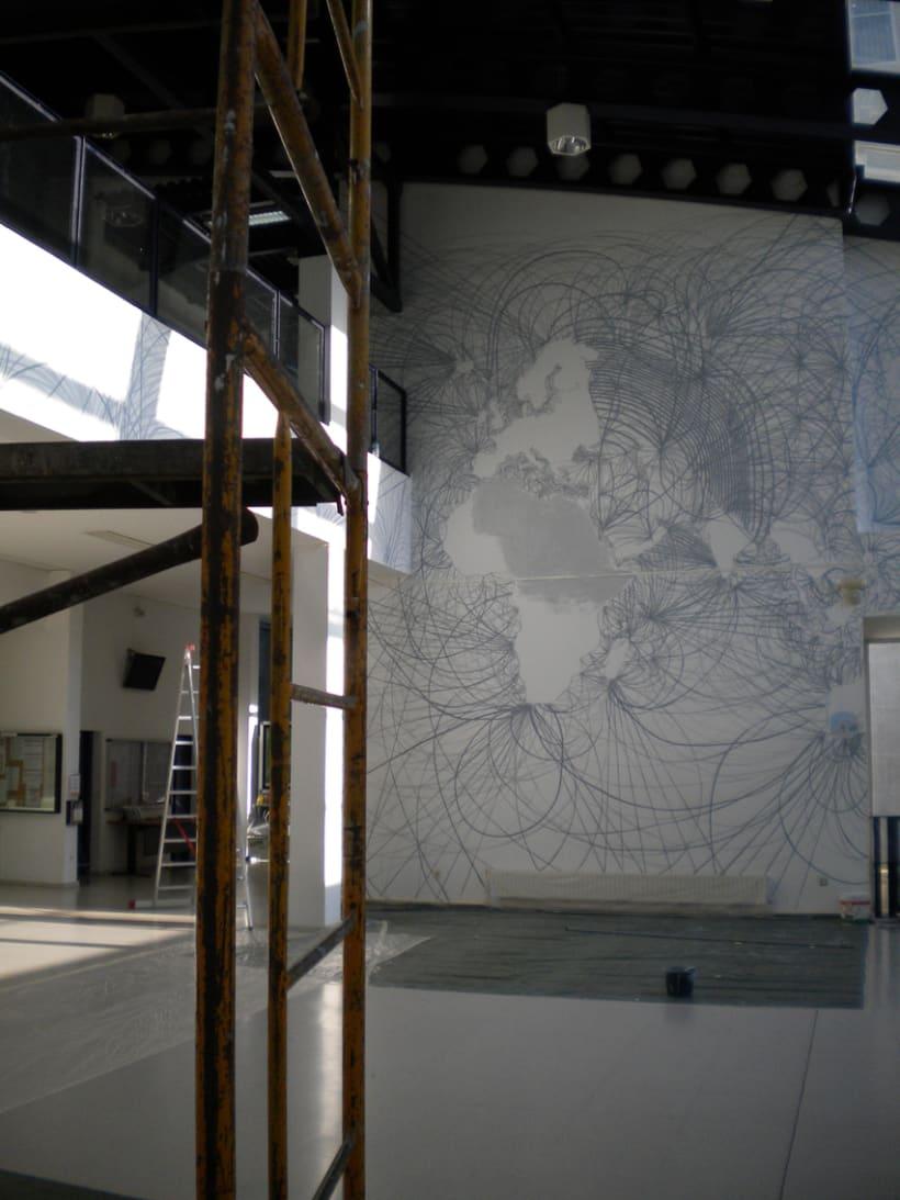 """Mural """"En red"""" 10"""