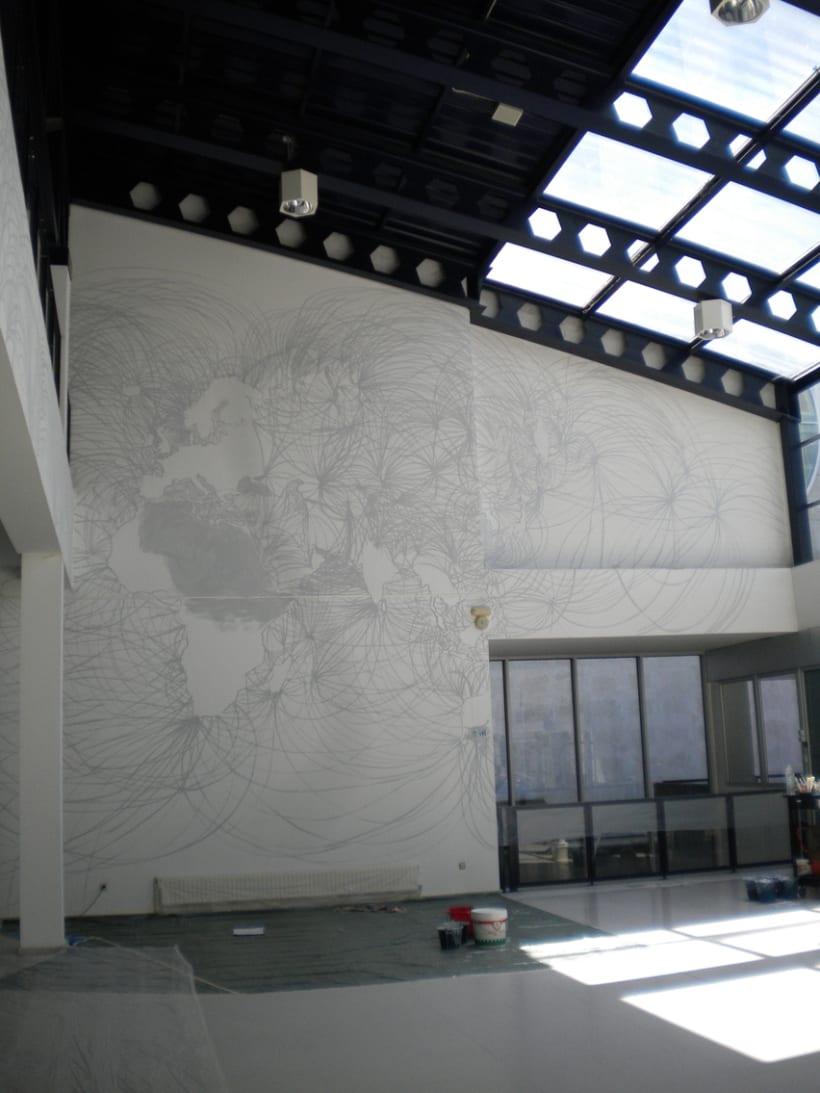 """Mural """"En red"""" 9"""
