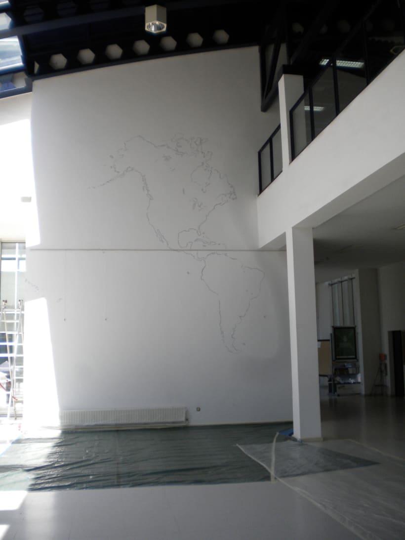 """Mural """"En red"""" 6"""