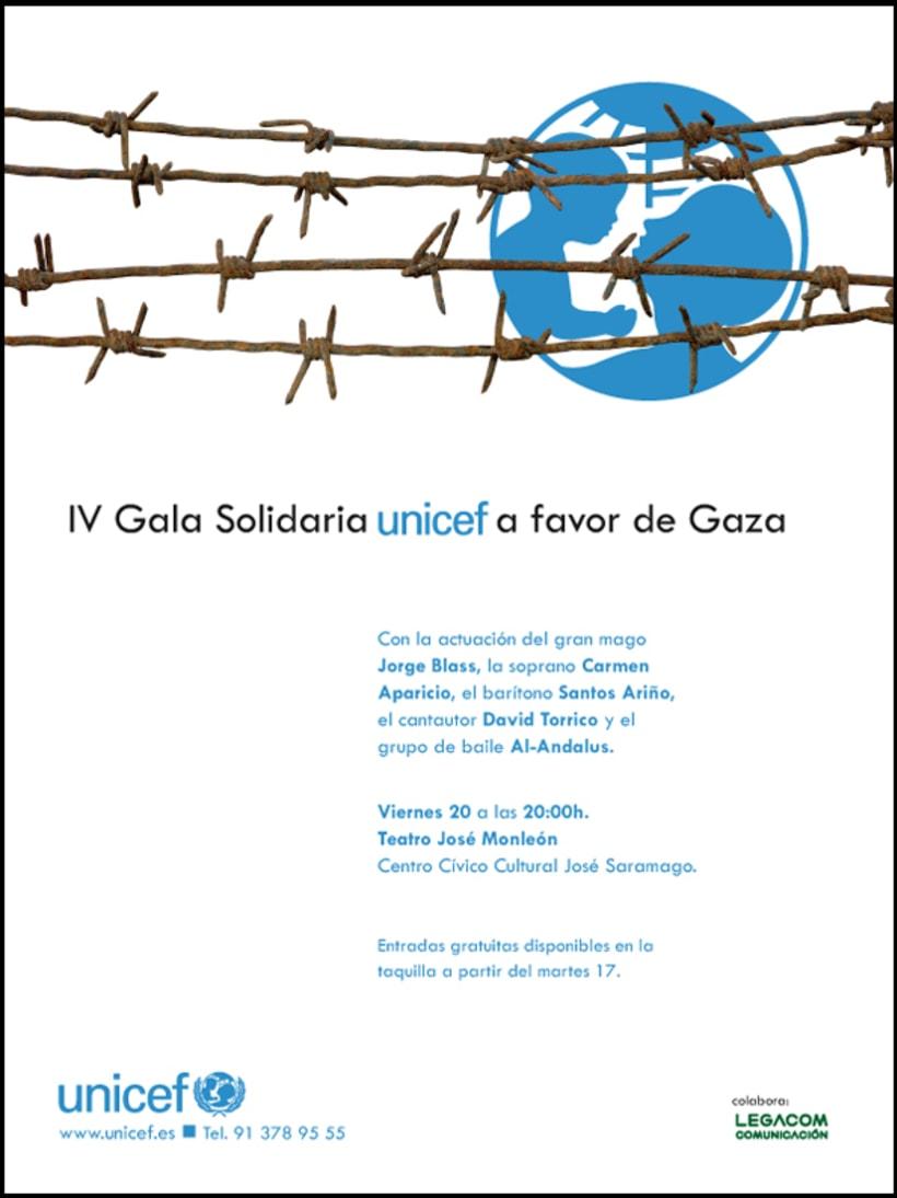 UNICEF Publicidad para prensa 1