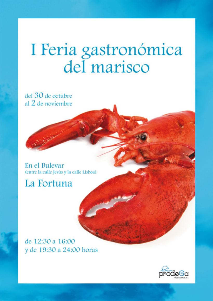 I Feria gastronómica del marisco 1