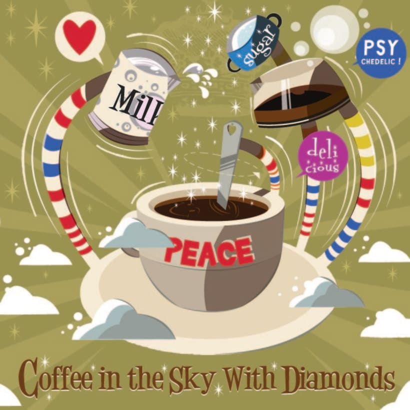 Coffee in the Sky with Diamonds 1