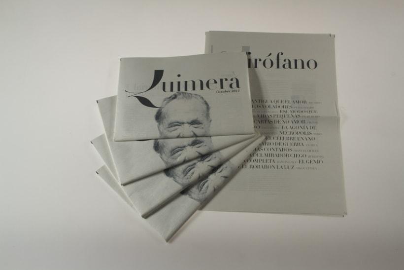 Rediseño de Quimera (Revista Literaria)   1
