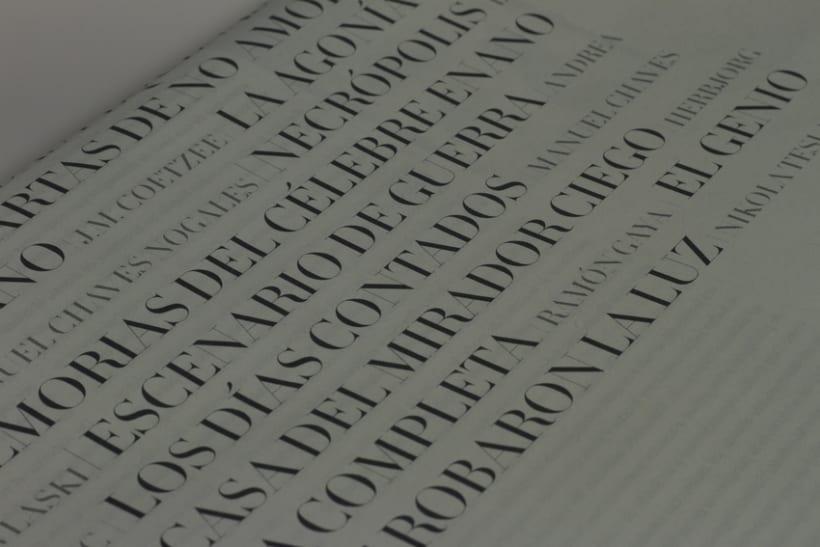 Rediseño de Quimera (Revista Literaria)   2