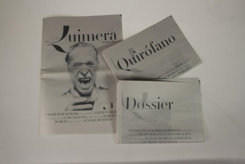 Rediseño de Quimera (Revista Literaria)   4
