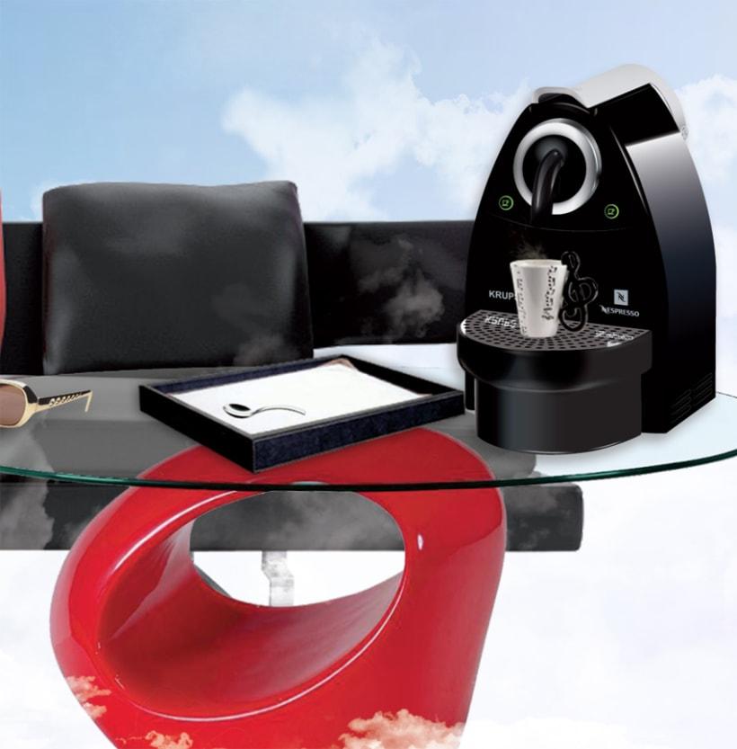 Ilustración de la cafetera de Nespresso 3