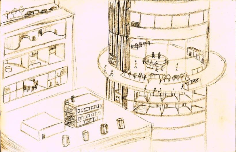 Perspectivas, edificios 1