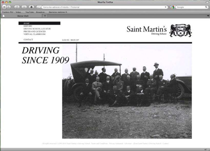 Saint Martin's Driving School 8