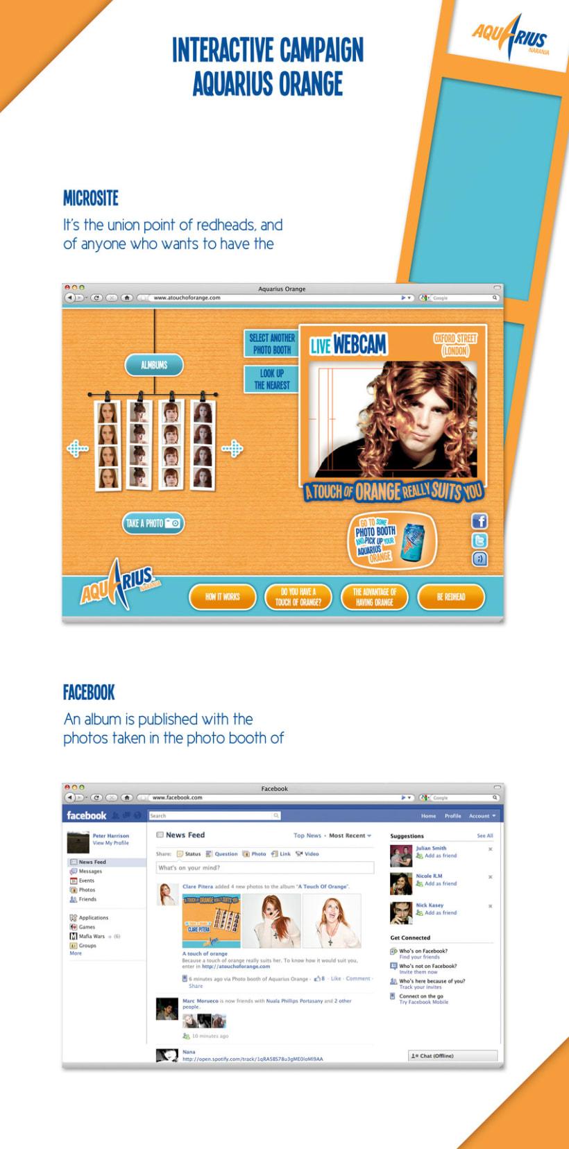Aquarius Orange // Interactive Campaign 3