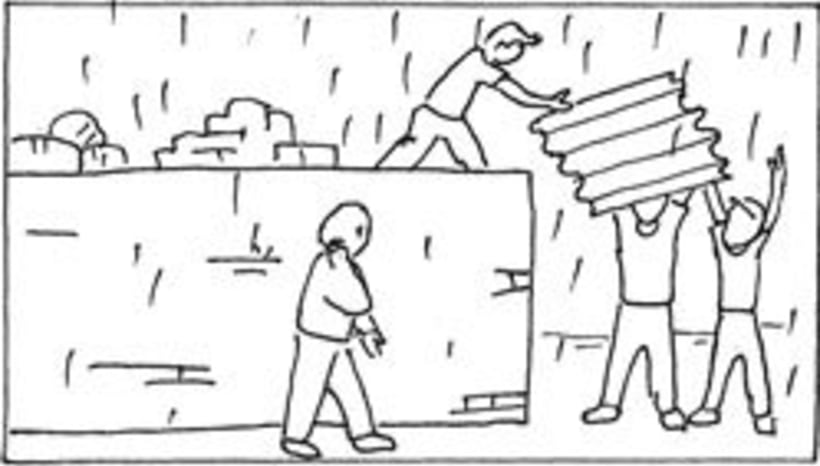 Amateurs, storyboard de la película 72
